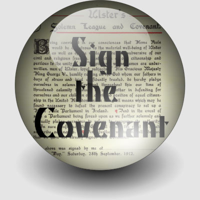 Sign the Ulster Covenant 2012